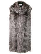 Liska Hooded Vest - Grey