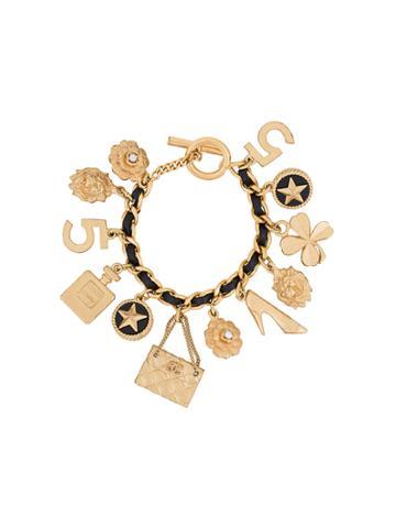 Chanel Vintage Dangling Charms Bracelet - Metallic