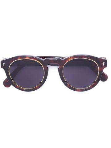 Illesteva 'lr3' Sunglasses - Brown