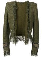 Balmain Cropped Tweed Jacket - Unavailable