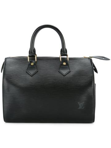 Louis Vuitton Vintage Epi Speedy 25 Tote Bag - Black