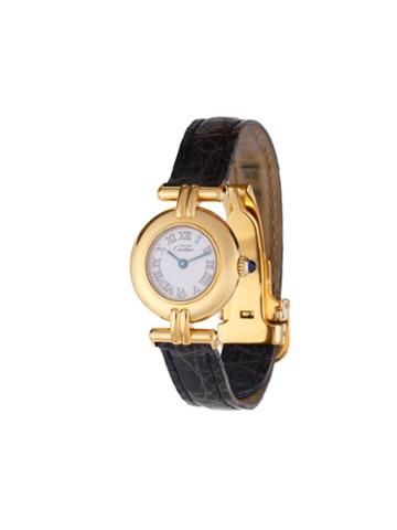 Cartier Vintage Quartz Bracelet Wristwatch, Women's, Blue