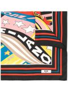 Msgm Printed Scarf - Multicolour