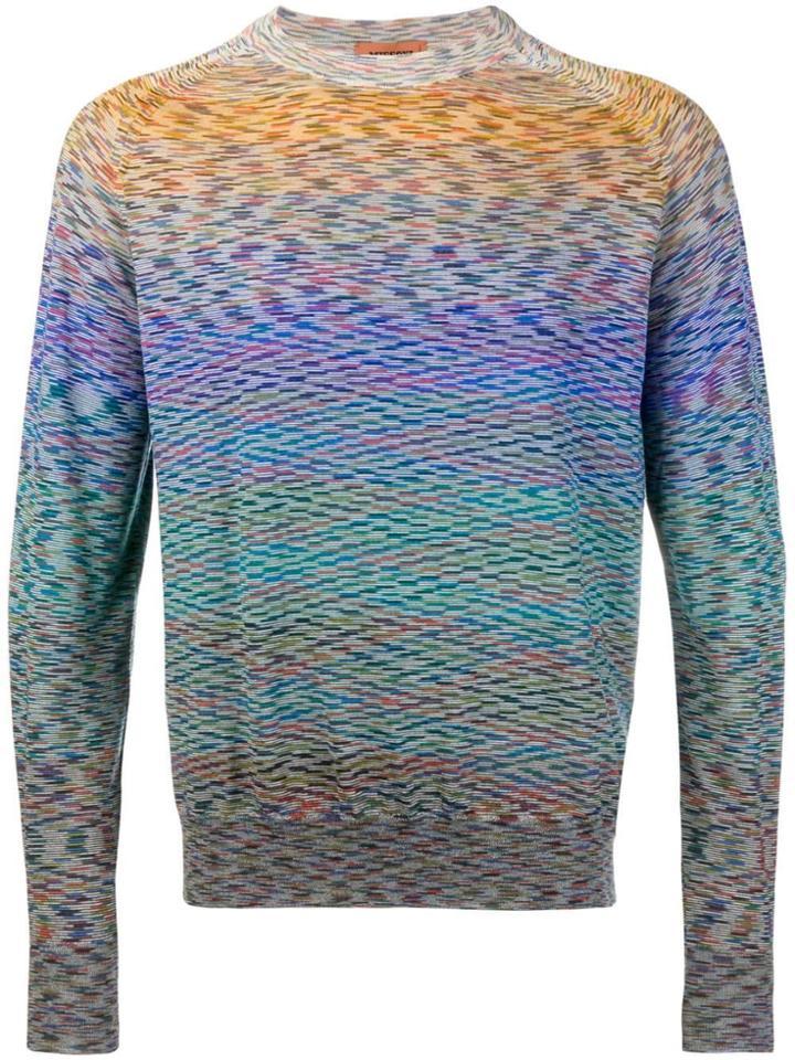 Missoni Crewneck Sweater - Pink