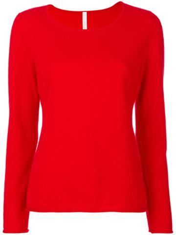 Philo-sofie - Scoop Neck Sweater - Women - Cashmere - 40, Red, Cashmere