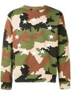 Études Green Camo Sweater