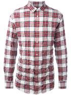 Dsquared2 Casual Tartan Shirt - Multicolour