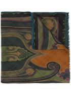 Etro Patterned Scarf - Green