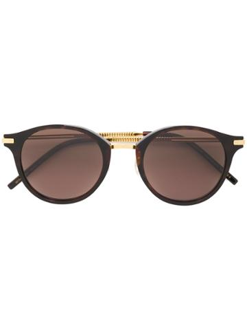 Boucheron Round-frame Sunglasses - Brown