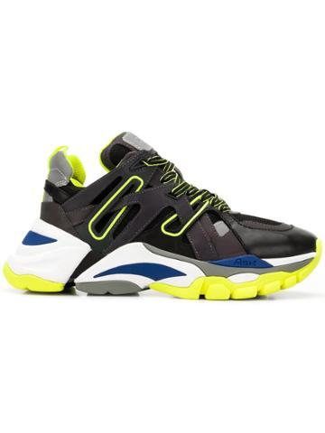 Ash Flash Trekking Sneakers - Black