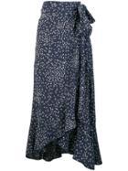 Ganni Maxi Skirt - Blue