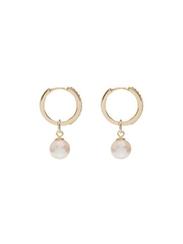 Mateo Pearl Drop Earrings - Gold