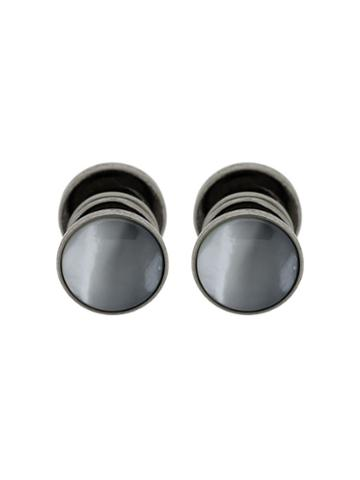 Hackett Glass Detail Cufflinks - White