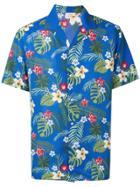 Altea Floral Print Shirt - Blue