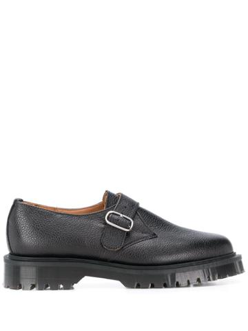 Ymc Chunky Sole Buckled Oxford Shoes - Black