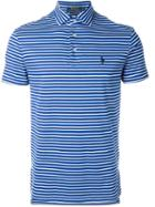 Polo Ralph Lauren Striped Logo Polo Shirt