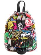 Moschino Micro Quilted Backpack - Multicolour