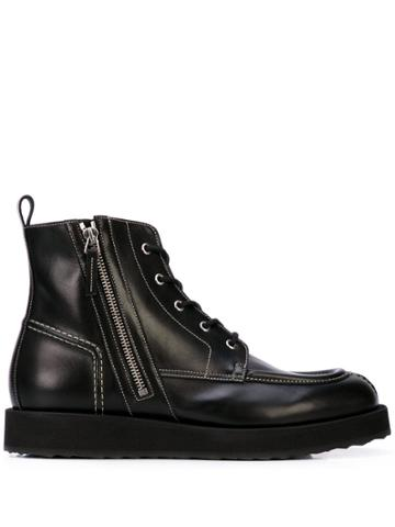 Pierre Hardy Lace-up Boots - Black