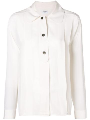 Chanel Vintage 1990's Chanel Shirt - White