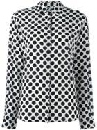 Msgm Polka Dot Shirt - White