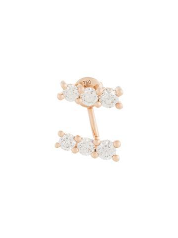 Alinka 18kt Rose Gold Lara Diamond Erring