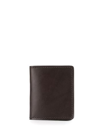 Filson Bridle Leather Cash And Card Case - Brown