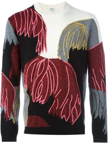 Kenzo 'hairs' Jumper, Men's, Size: Large, Cotton/wool