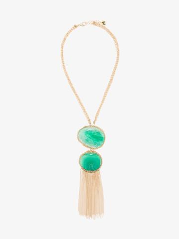 Rosantica Ardelia Tassel Necklace, Women's, Metallic