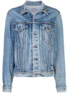 R13 Studded Denim Jacket - Blue