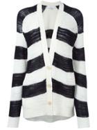 Iro Striped Knit Cardigan