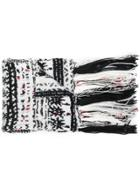 Missoni Fringed Scarf - Black