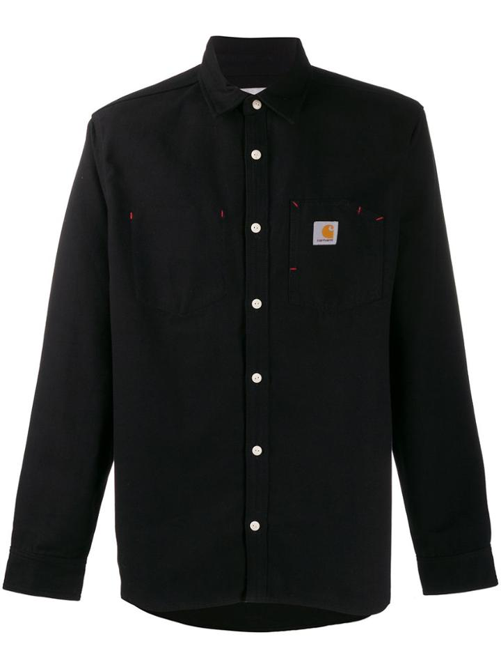 Carhartt Wip Longsleeve Tony Shirt Black