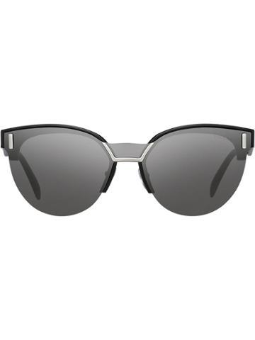 Prada Eyewear Prada Hide Eyewear - Black