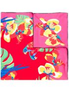 Valentino Valentino Garavani Tropical Print Scarf - Multicolour