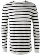 Neil Barrett Striped Pullover