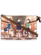 Love Moschino Cartoon Girl Crossbody Bag