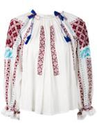 Ulla Johnson - Mila Top - Women - Cotton - 6, White, Cotton