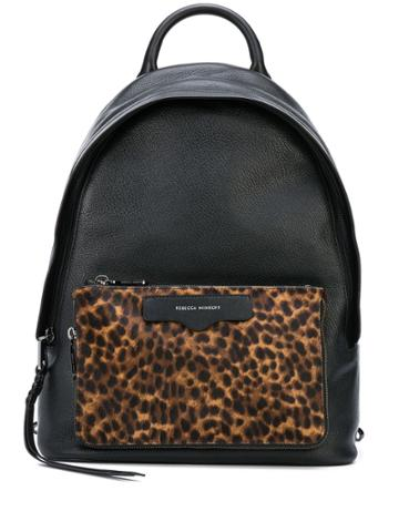 Rebecca Minkoff Leopard-print Backpack - Black