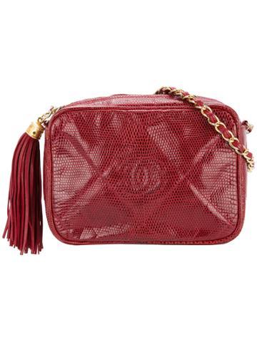 Chanel Vintage Tassel Detail Handbag - Red