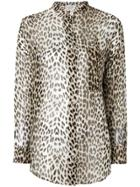 Forte Forte Leopard Print Shirt - Brown