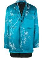 Haider Ackermann Printed Button Shirt - Blue