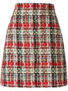 Gucci Tweed Skirt - Multicolour