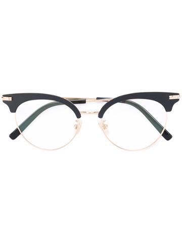 Boucheron Cat Eye Glasses - Black