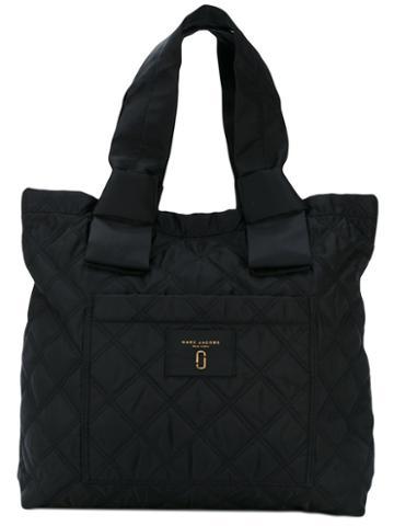 Marc Jacobs - Quilted Shoulder Bag - Women - Nylon - One Size, Black, Nylon