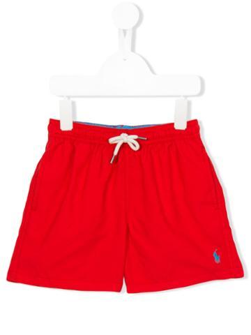 Ralph Lauren Kids Swim Shorts, Boy's, Size: 6 Yrs, Red