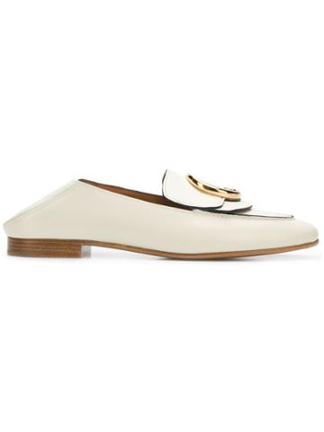 Chloé Chloé Loafers - White