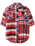 Sacai Oversized Plaided Shirt