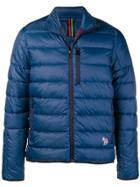 Ps Paul Smith Padded Jacket - Blue