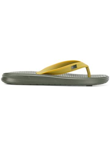 Nike Solay Flip Flops - Green