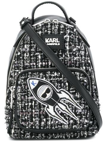 Karl Lagerfeld K/space Mini Backpack - Black